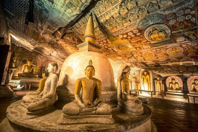 Dambulla Cave Temple - sri lanka sightseeing tours