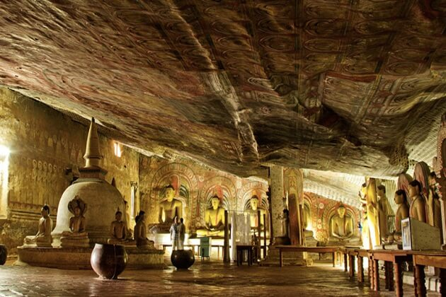 Dambulla Cave Temple - sri lanka tour and beach holiday