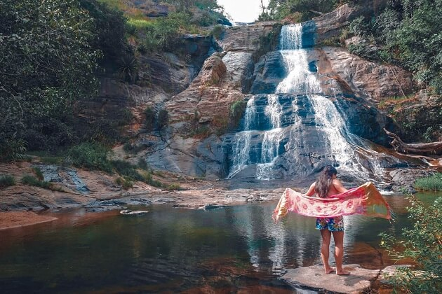 Diyaluma Fall - ella top attractions