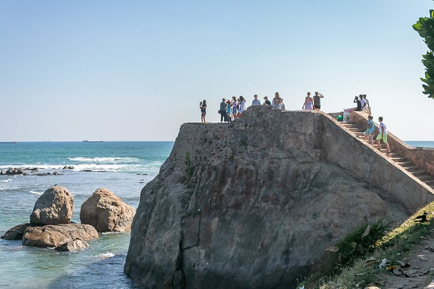Flag Rock - galle top attractions