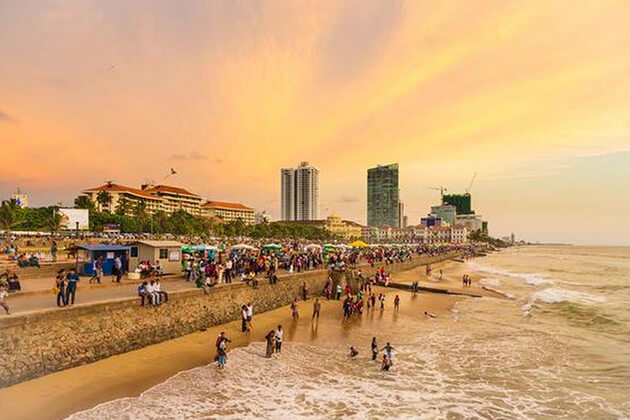 Galle Face Green - best places to visit in sri lanka colombo