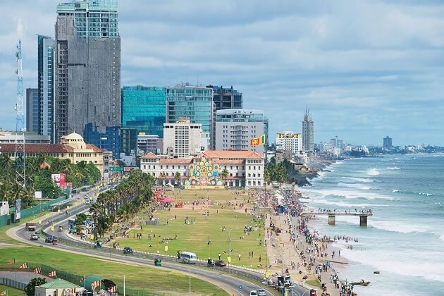 Galle Face Green - best sri lanka day tours colombo