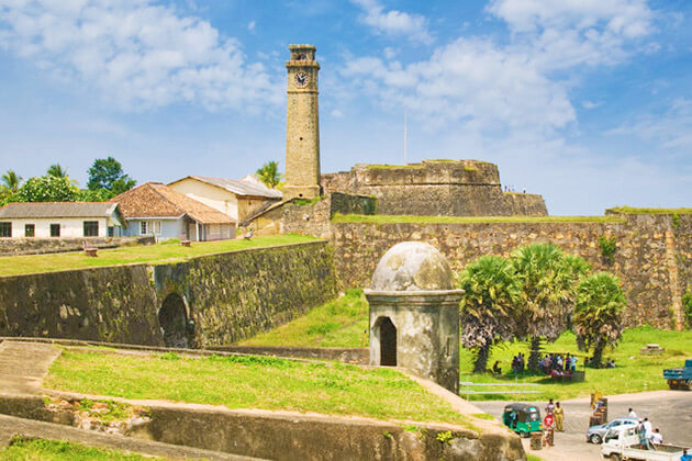 Galle - sri lanka family holiday itinerary