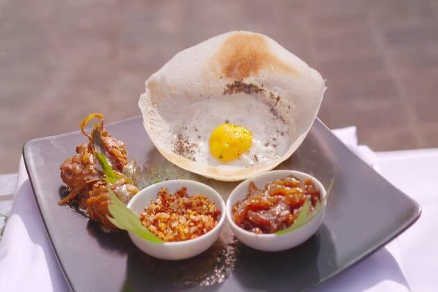 Hoppers - sri lanka food traditional