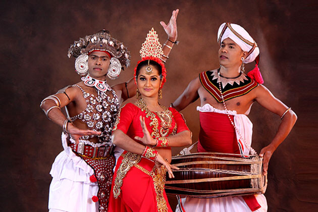 Kandyan Dance performance