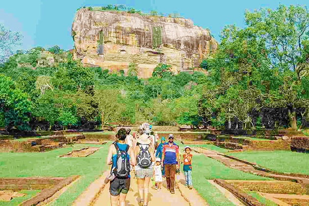Lion Rock - sri lanka family holiday itinerary