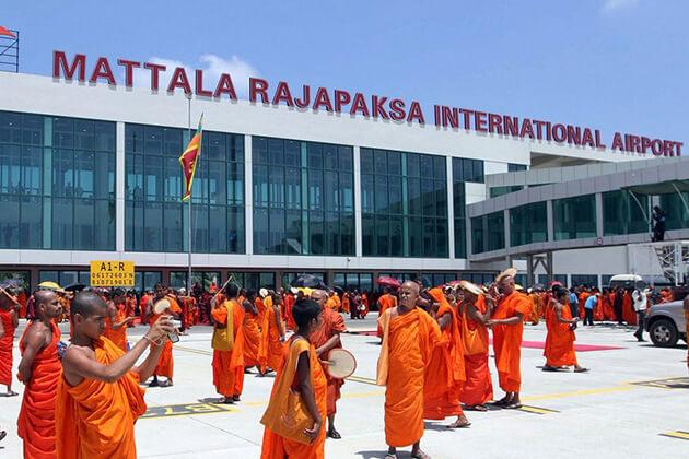 Mattala Rajapaksa International Airport - best sri lanka airports