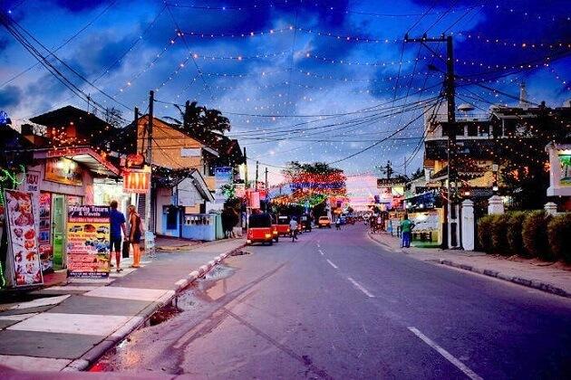 Negombo town