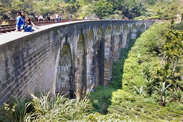 Nine Arches Bridge - sri lanka adventure tourism