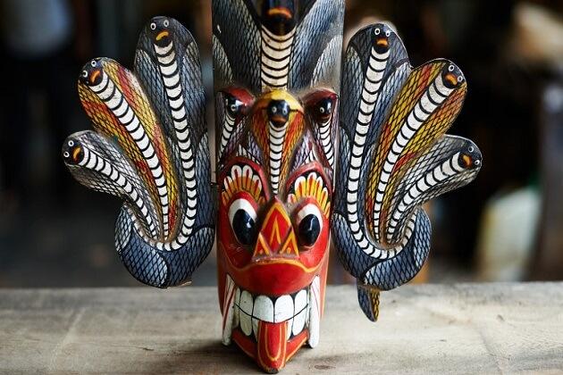 Raksha Masks - wooden souvenirs sri lanka