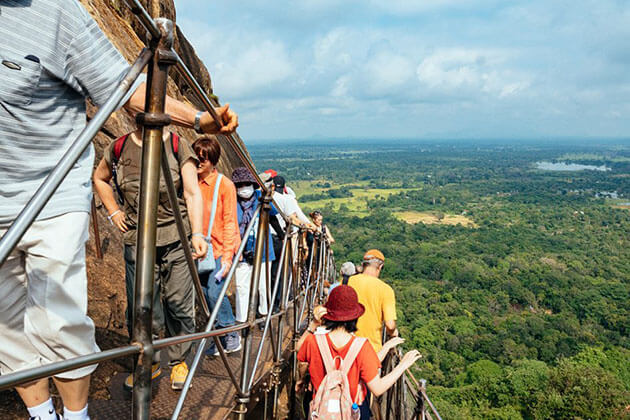 Sigiriya Rock Fortress - beach holiday sri lanka