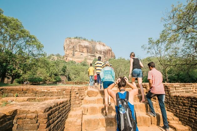 Sigiriya Rock Fortress - best places to visit in sri lanka