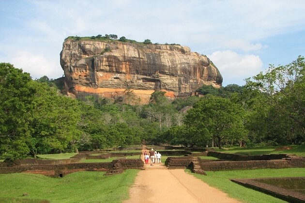 Sigiriya Rock Fortress - day tours in sri lanka