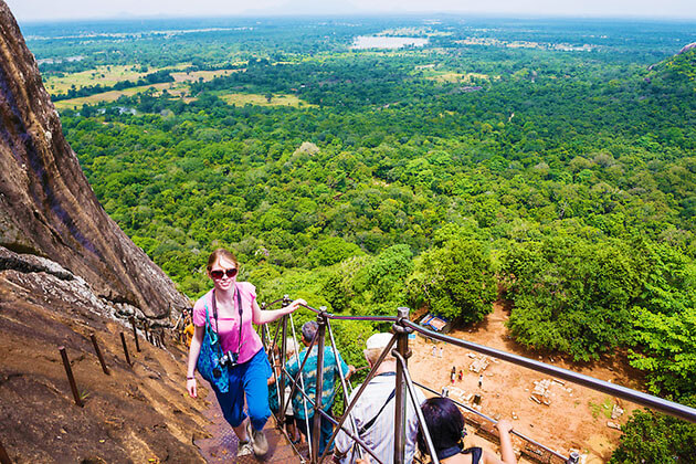 Sigiriya Rock Fortress - sri lanka 2 week itinerary