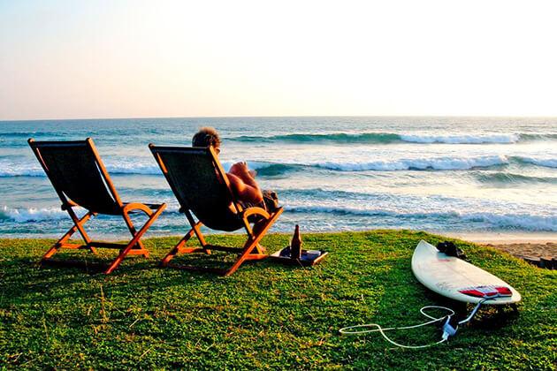 Beach in Sri Lanka Tours