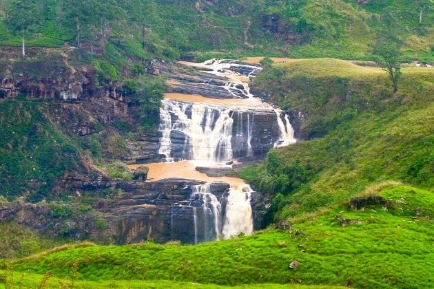 St.Clair's waterfall - best places to visit in sri lanka