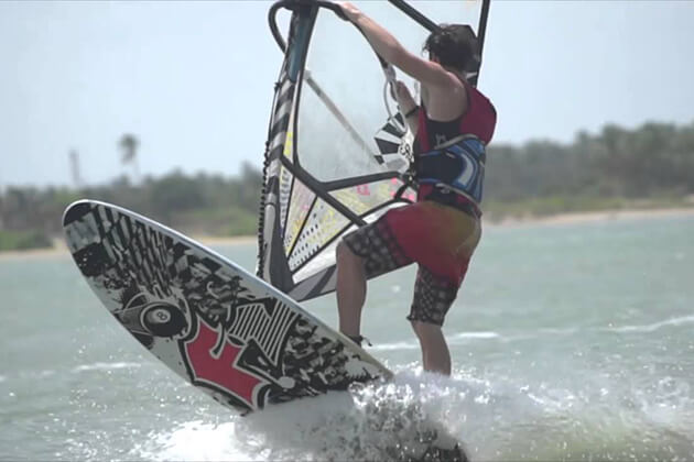 Windsurfing - adventure in sri lanka