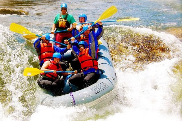 adventure tour in sri lanka - rafting