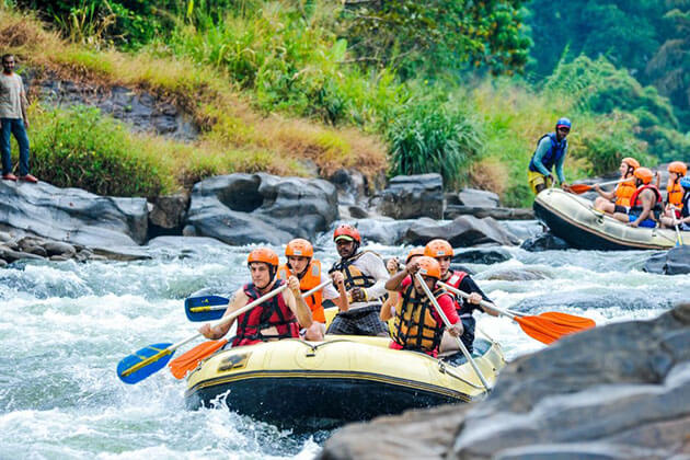 rafting - adventure tours to sri lanka