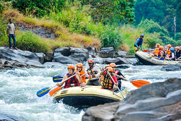 white water rafting - sri lanka day excursions colombo